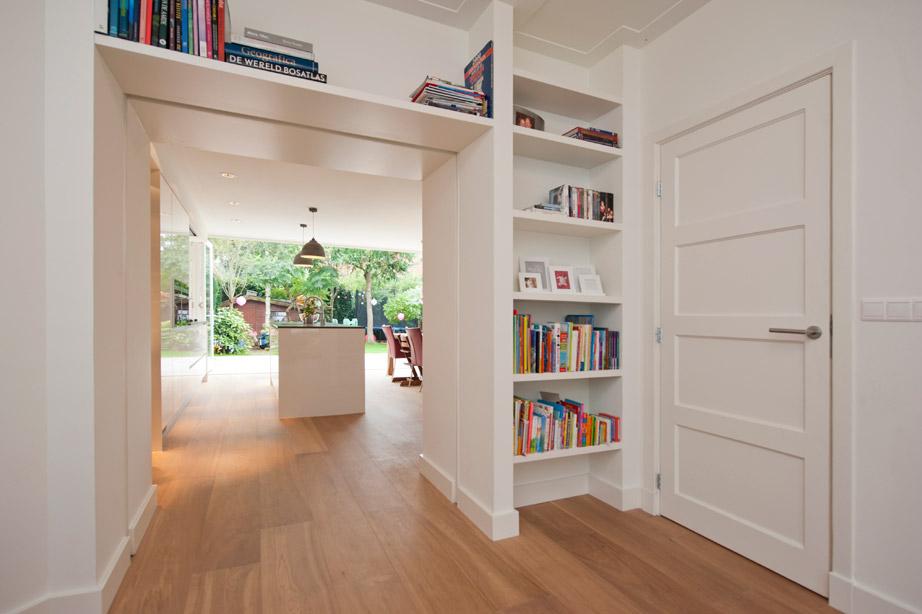 moderne boekenkast - Het Ontwerphuis