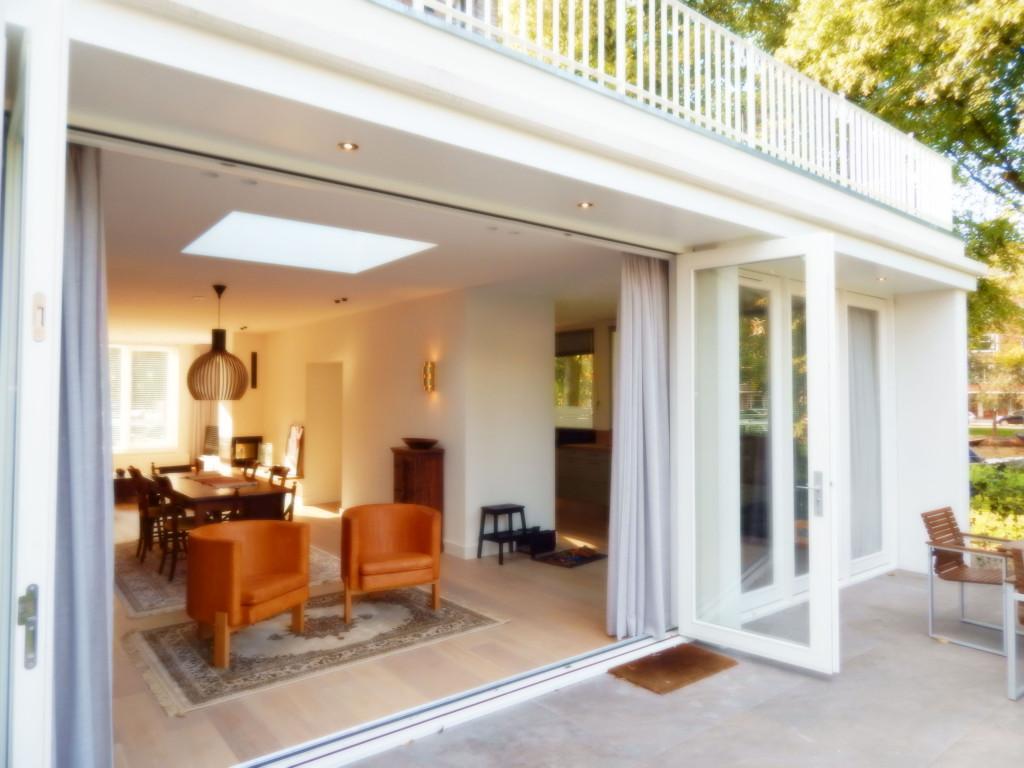 uitbouw woonkamer - Het Ontwerphuis