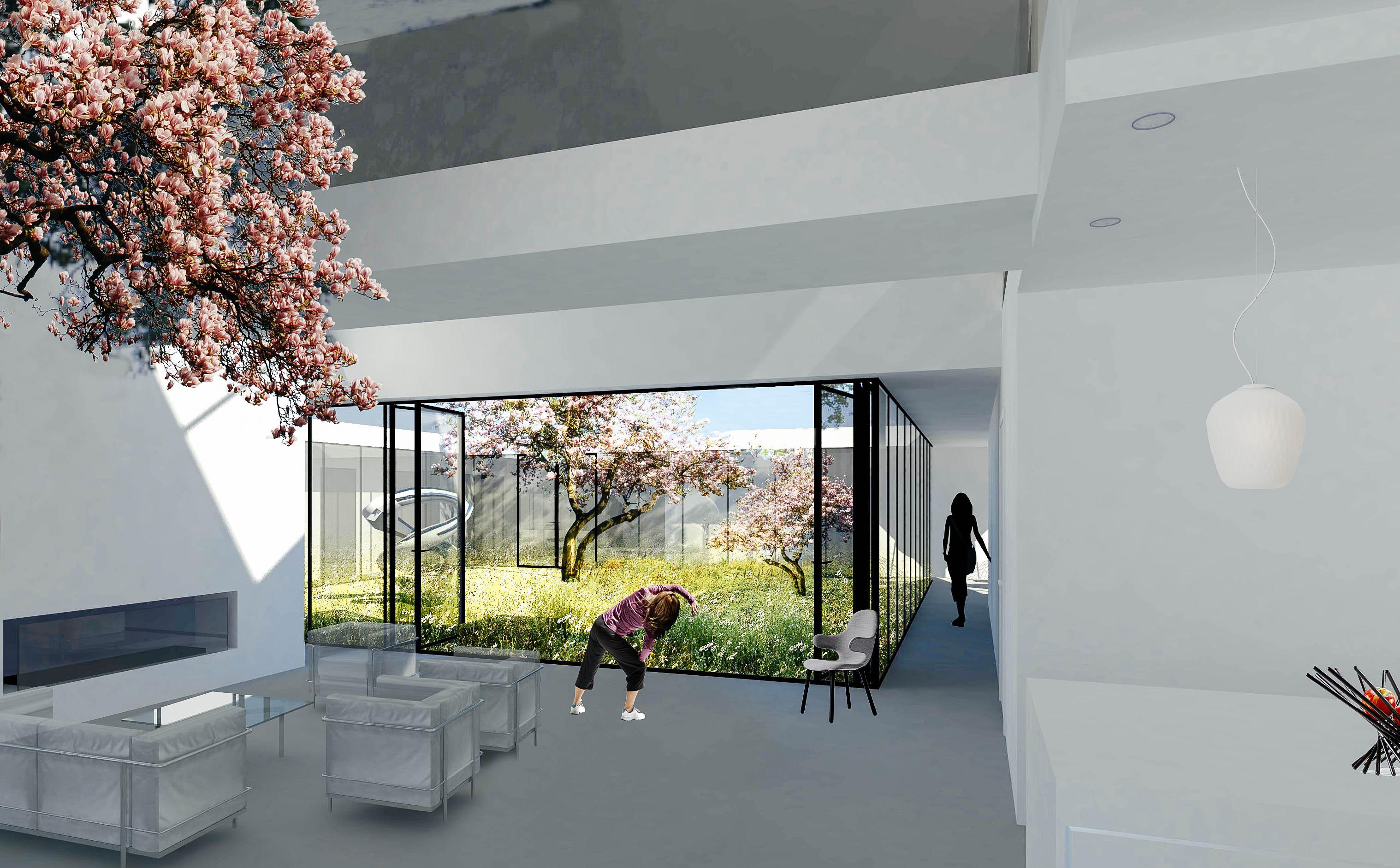villa woonkamer - Het Ontwerphuis