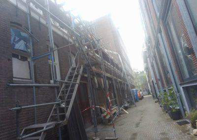 Transformatie fabriek naar woningen in centrum Amsterdam
