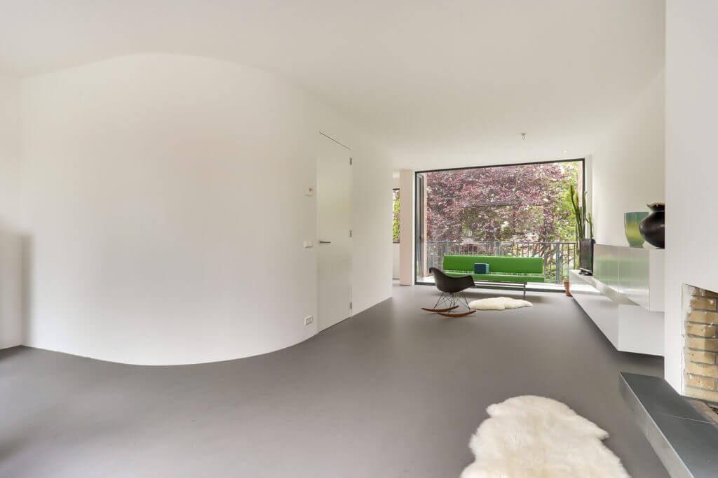 Minimalistisch interieur amsterdam het ontwerphuis