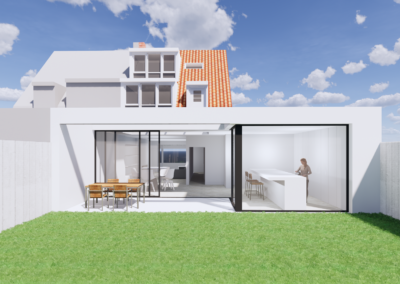 Ontwerp design uitbouw Badhoevendorp klaar